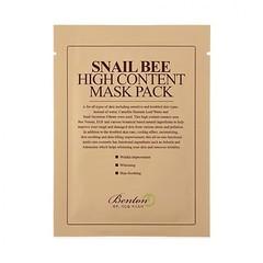 Маска BENTON Snail Bee High Content Mask pack 1 шт.