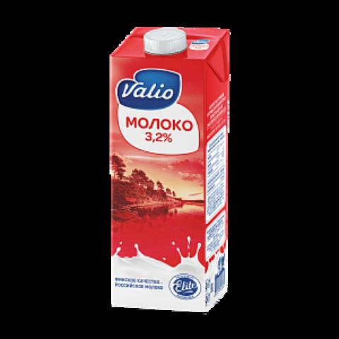 Молоко Valio ультрапастеризованное 3.2%, 1 л