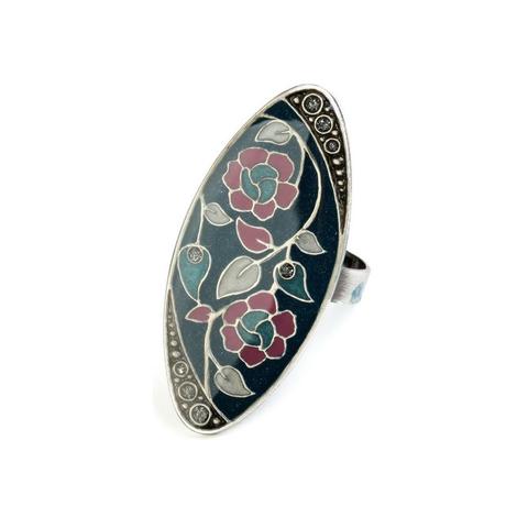 Кольцо Цветы K77111 G