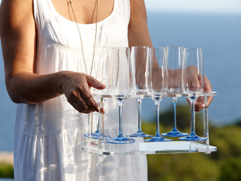 WINE GLASS CARRIER COLLAPSIBLE TRAY, PARTY