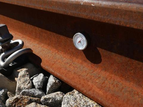 Термометр рельсовый магнитный Robel 85.20