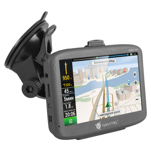 Спутниковый GPS навигатор Navitel G500