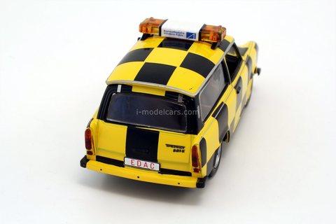 Trabant P601 Follow-Me Leipzig-Altenburg Airport 2001 IST191 IST Models 1:43