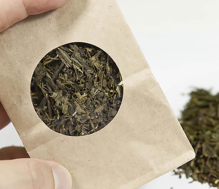TEA-CH123 Китайский зеленый чай Сенча, японская технология (50 гр) фото 05