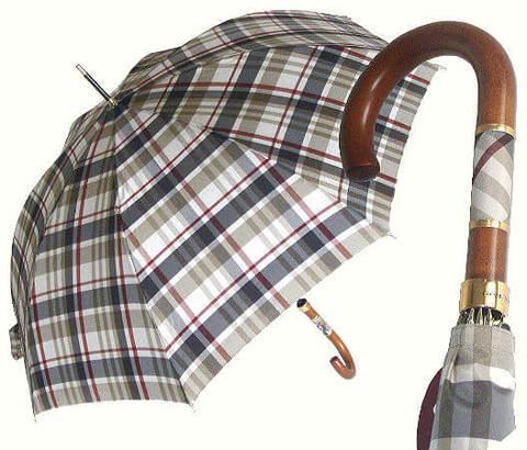 Зонт-трость Guy de Jean Eclair gray