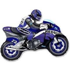 F Мини-фигура Мотоцикл (синий) 14