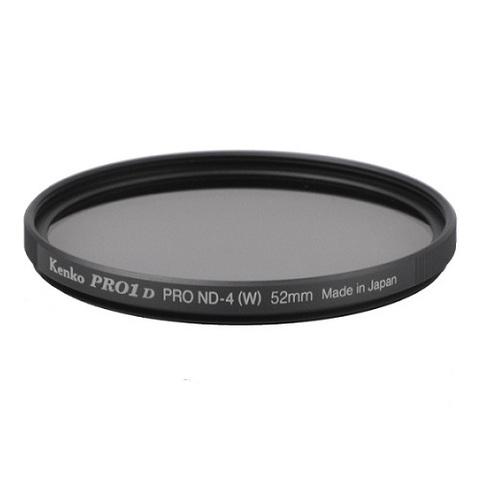 Нейтрально-серый фильтр Kenko Pro 1D ND4 W на 52mm