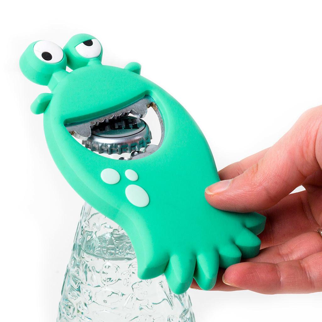 Открывалка Monster бирюзовая магнитная открывалка monster бирюзовая магнитная