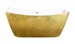 Акриловая ванна Lagard MEDA Treasure Gold 170х78 см