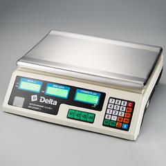Весы электронные торговые настольные Delta до 40 кг ТВН-40
