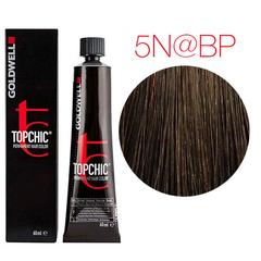 Goldwell Topchic 5N@BP (светло-коричневый с перламутровым сиянием) - Cтойкая крем краска