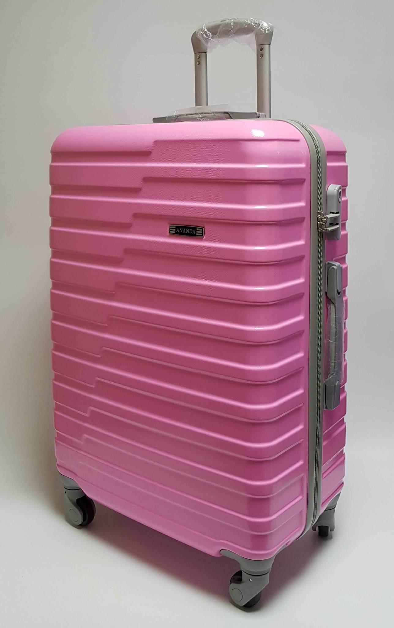 Чемодан Ananda 210 Розовый (L)