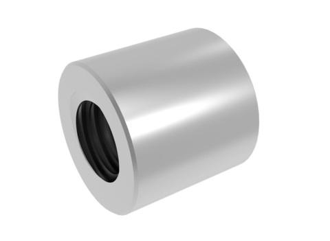 Трапецеидальная гайка 20x4 (сталь)
