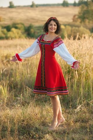 Сценический костюм Малинка для песен