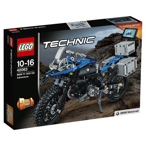 LEGO Technic: Приключения на BMW R 1200 GS 42063 — BMW R 1200 GS Adventure — Лего Техник