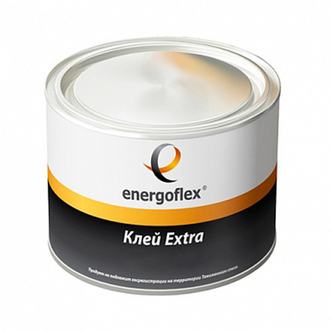 Контактный клей для соединения швов изоляции Energoflex Extra - 0,5 л
