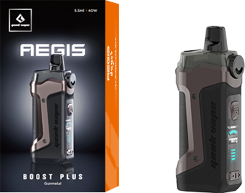 Набор Geek Vape Aegis Boost Plus kit 40W 5.5ml