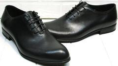Мужские модельные туфли классические Ikoc 063-1 ClassicBlack.