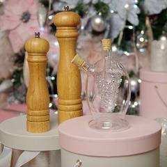 Подарочный набор: Бутылочка для масла - Мельница для перца