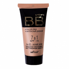 BB cream тон 02 - легкий загар, Bielita. 30 ml