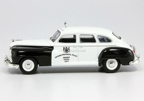 Chrysler De Soto Ontario Canada 1:43 DeAgostini World's Police Car #16