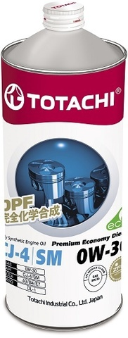 Premium Economy Diesel 0W-30 TOTACHI масло дизельное моторное синтетическое (1 Литр)