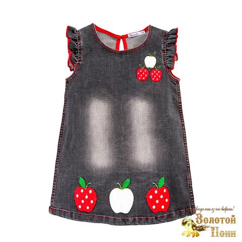 Платье джинсовое для девочки (2-5) 190320-OP768П