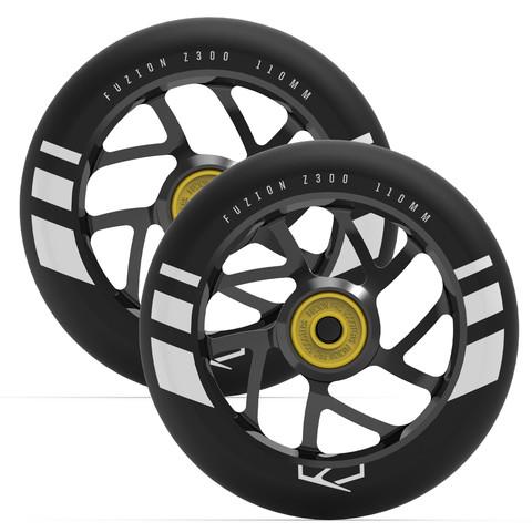 Пара колёс для самоката FUZION Flight (Black/Black)