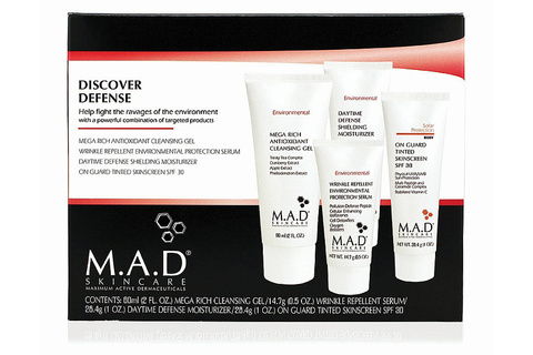 Дорожный набор для восстановления кожи Environmental Discovery Kit M.A.D Skincare
