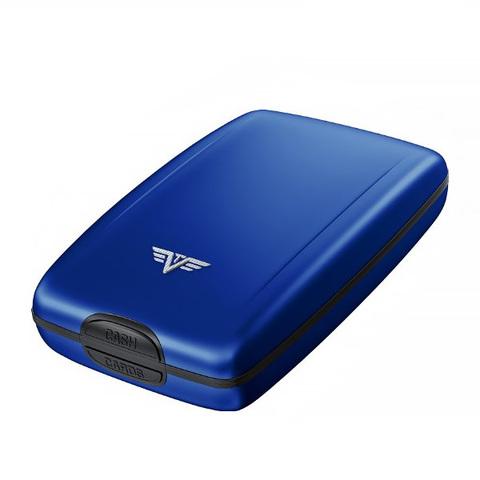 Кошелек c защитой Tru Virtu Oyster 2, светло-синий, 110x69x28 мм