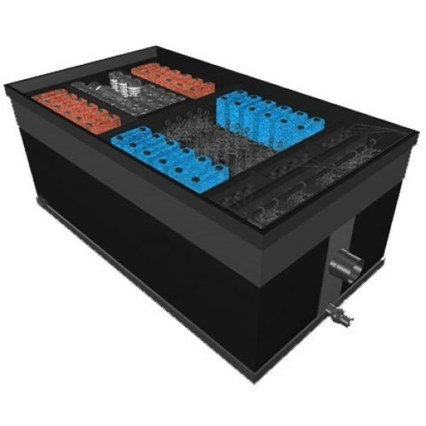 Фильтр для пруда и водоема до 450м3 Pondtech Bio- Filter 190