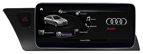 Монитор Android 9.0 4/64GB IPS для Audi A4/A5 2007-2013 RL-8201