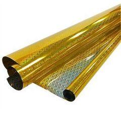Пленка Голография, 200гр / рулон 70 см * 7,1 м * 40 мкм (Золото)
