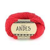 Пряжа Drops Andes 3620 красный