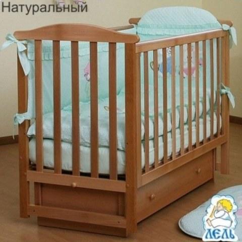 Кровать Лель АБ 15.2 Лютик натуральный