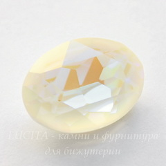 4120 Ювелирные стразы Сваровски Crystal Light Grey DeLite (18х13 мм)