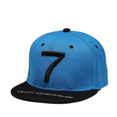 Кепка Криштиану Роналду голубая (Бейсболка CR7) 2