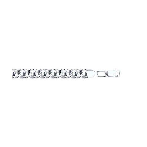 965140904 - Браслет Бисмарк из серебра с алмазной гранью