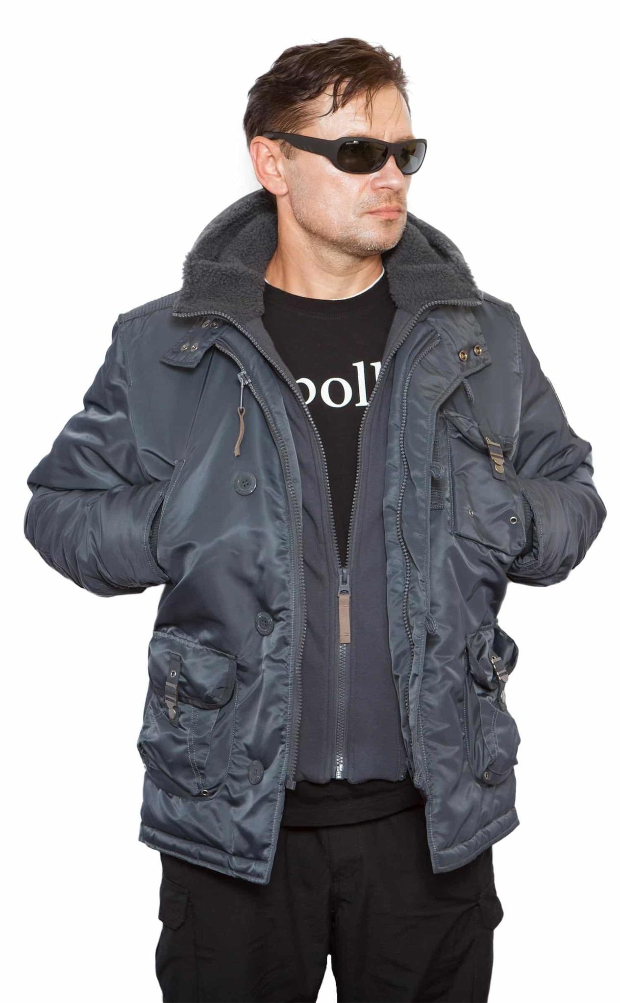 Куртка Бомбер - Ranger Apolloget 2020(стальной синий - steel blue)