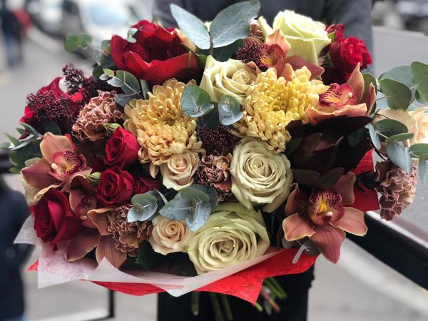 Букет цветов 375