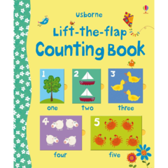 Lift-the-flap counting book (с окошками)