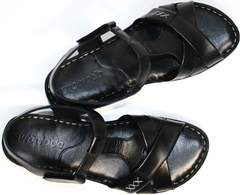 Босоножки без каблука Evromoda 15 Black.