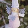 "Игрушка елочная ""Ангел"" текстил. Pink"