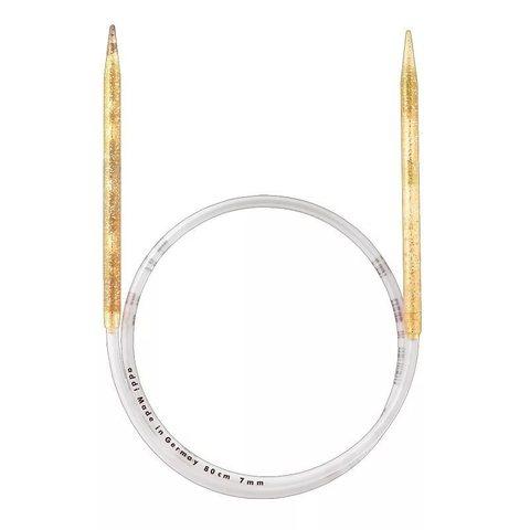 Спицы Addi  пластиковые круговые с гибкой леской 100 см, 7 мм