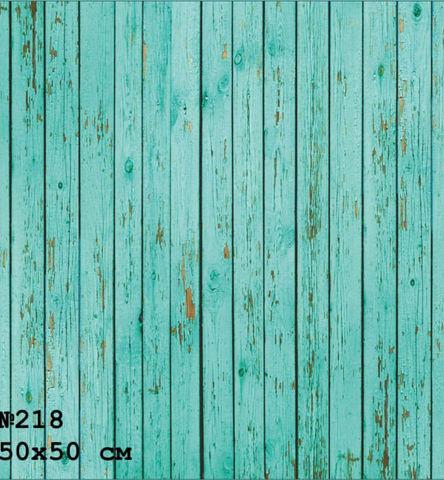 Фотофон виниловый «Тонкие зеленые доски» №218