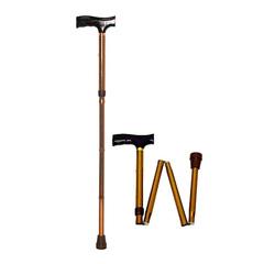 Складная трость с деревянной ручкой (регулируемая высота) BRONIGEN