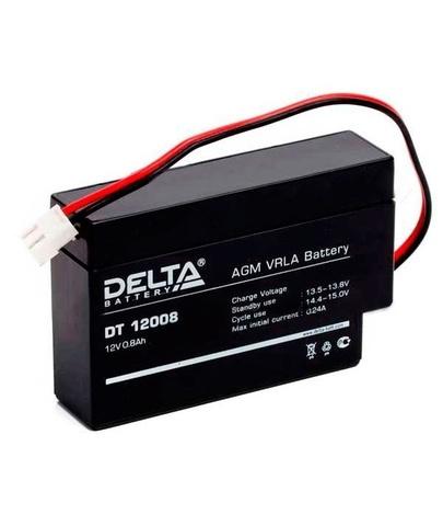 Аккумуляторная батарея Delta DT 12008 (Т13)