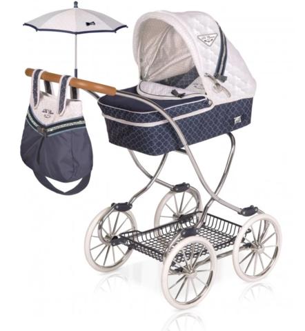 DeCuevas Коляска с сумкой и зонтиком серии ТОП-Коллекшн, 90см (80237)