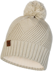 Шапка вязаная с флисом Buff Hat Knitted Polar Raisa Cream