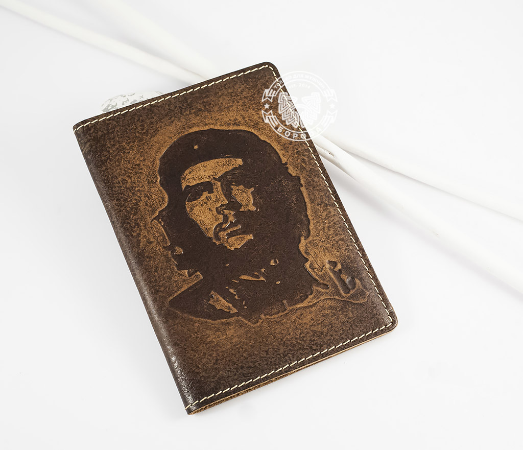Обложка из натуральной кожи «Че Гевара»